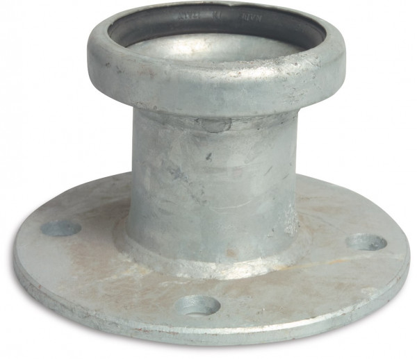 Female part with flange, type S73