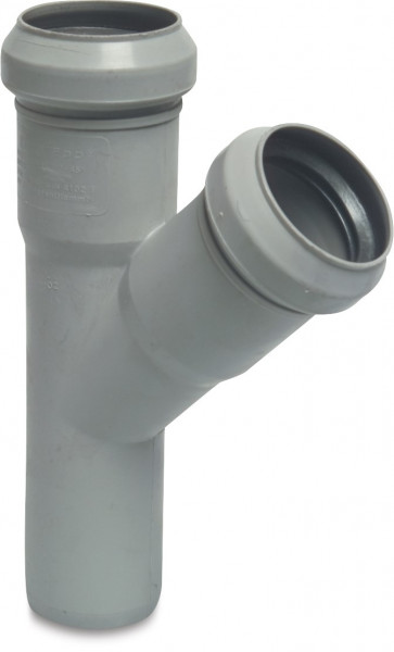 Ring seal drainage T-piece 45°