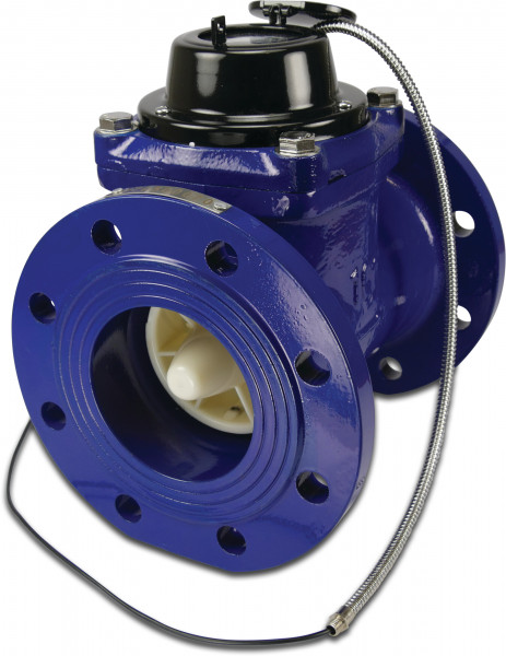 Profec Water meter dry, type Woltman horizontal with pulse